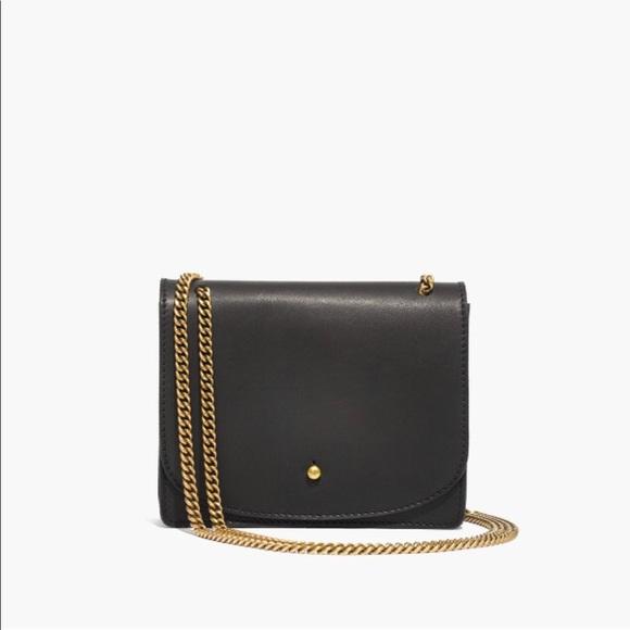 a41a93a84ef2 Madewell Handbags - Madewell    Leather Chain Crossbody Bag
